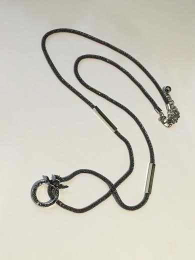 Mosaic Grey Necklace